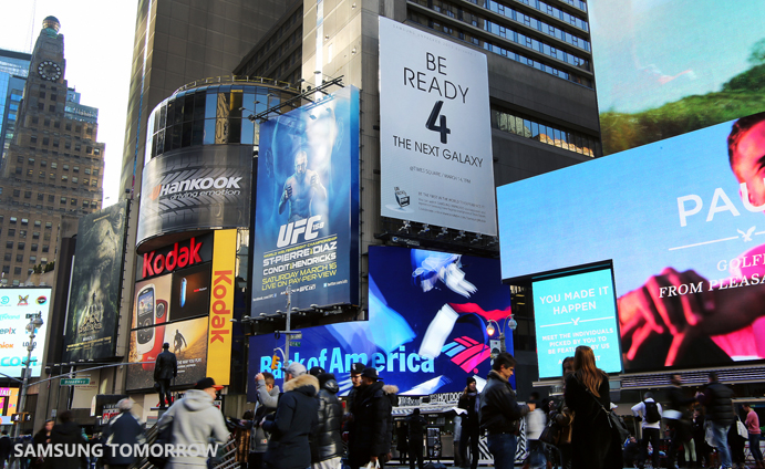 Samsung Galaxy S 4 New York Times Square - 1