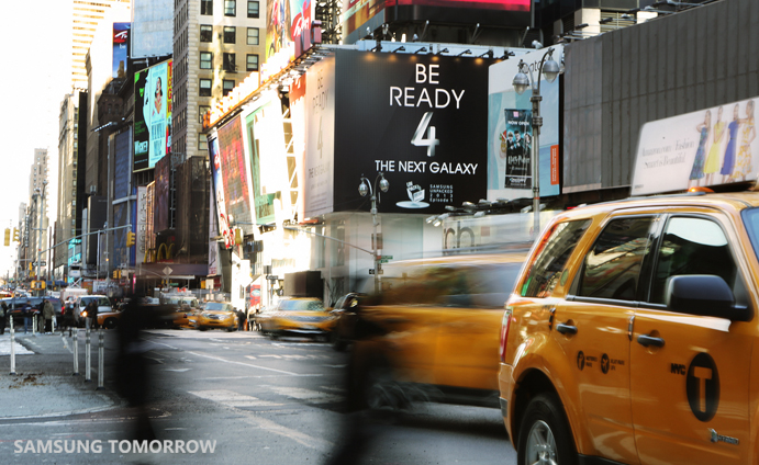 Samsung Galaxy S 4 New York Times Square - 2
