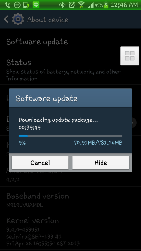 T-Mobile Galaxy S4 Android 4.3 Jelly Bean update
