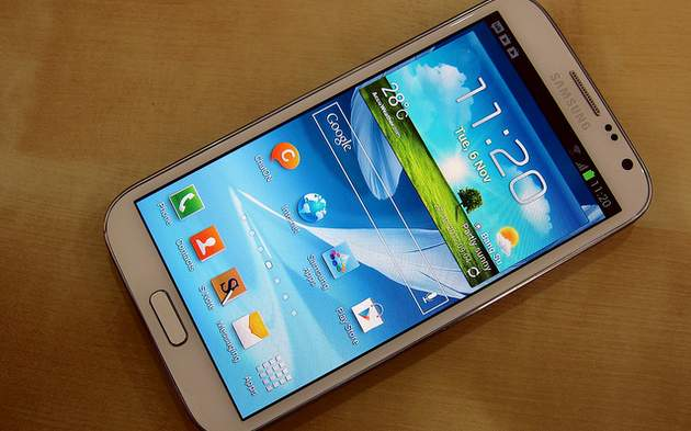 Galaxy Note 2 Android 4.3