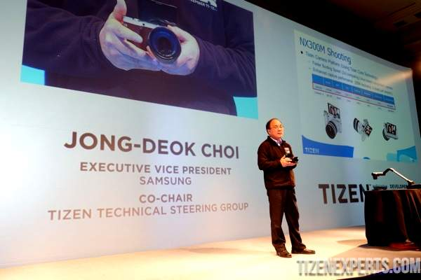 NX300M camera is the first Tizen powered device
