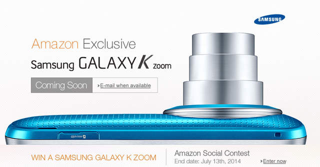 Samsung Galaxy K Zoom India Samsung Galaxy K Zoom India Availability, Price and Release Date