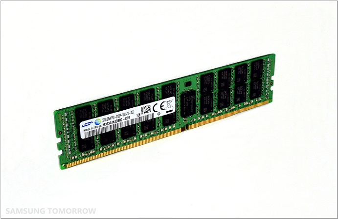 20nm 8Gb DDR4 21 Samsung 8 Gigabit DDR4 RAM is Based on 20 Nanometer Process Technology
