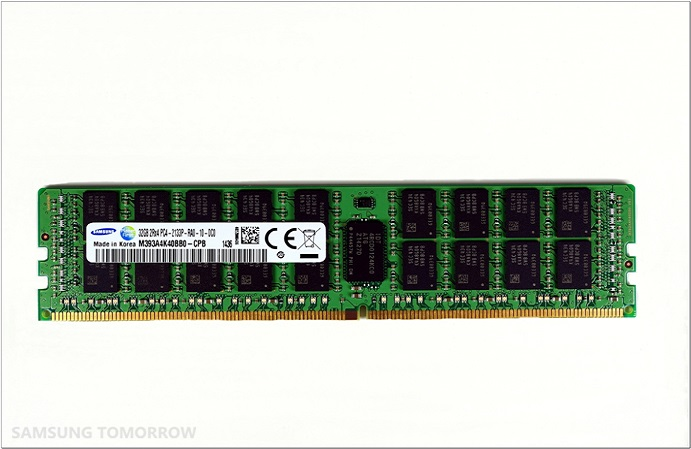 20nm 8Gb DDR4 31 Samsung 8 Gigabit DDR4 RAM is Based on 20 Nanometer Process Technology