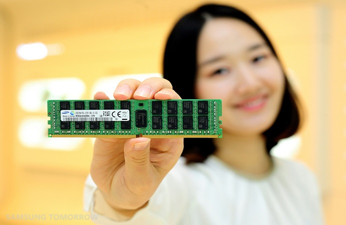 20nm 8Gb DDR4 41 Samsung 8 Gigabit DDR4 RAM is Based on 20 Nanometer Process Technology