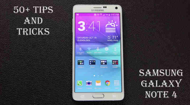 50 Tips and Tricks for Samsung Galaxy Note 4 YouTube 50+ Essential Galaxy Note 4 Tips and Tricks