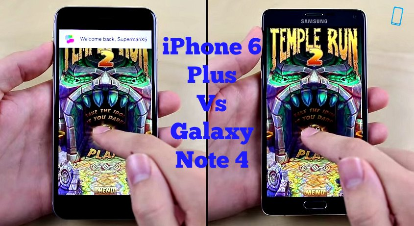 Galaxy Note 4 vs. iPhone 6 Plus Speed Test iPhone 6 Plus vs Galaxy Note 4. Which One is Faster?