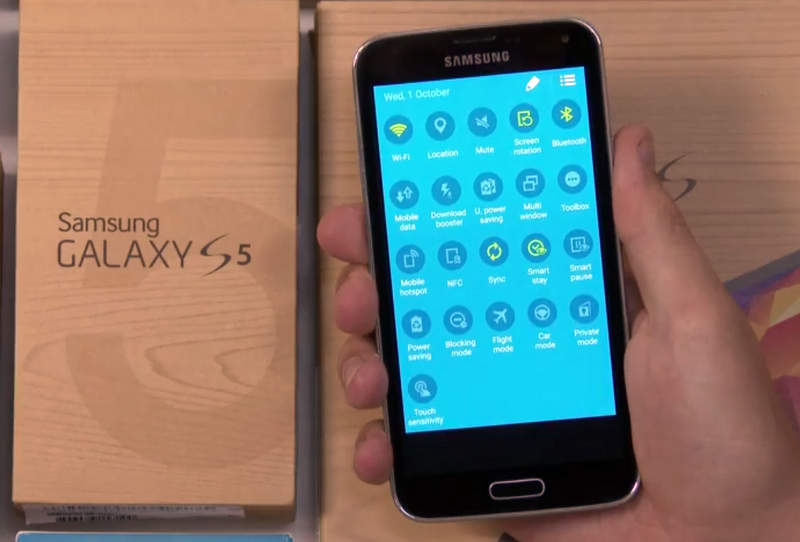 Galaxy S5 Android L Update