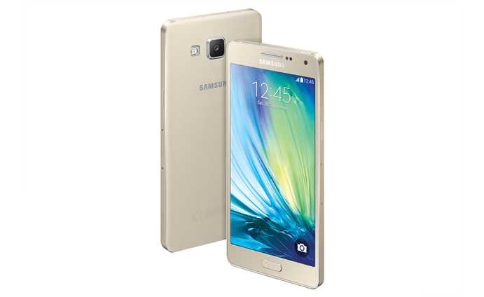 Samsung Galaxy A5 Champagne Gold Galaxy A3 and A5 Promise Metallic Body in Affordable Prices