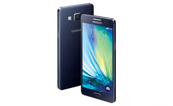 Samsung Galaxy A5 Midnight Black Galaxy A3 and A5 Promise Metallic Body in Affordable Prices