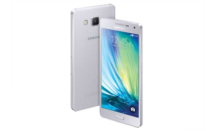 Samsung Galaxy A5 Platinum Silver Galaxy A3 and A5 Promise Metallic Body in Affordable Prices