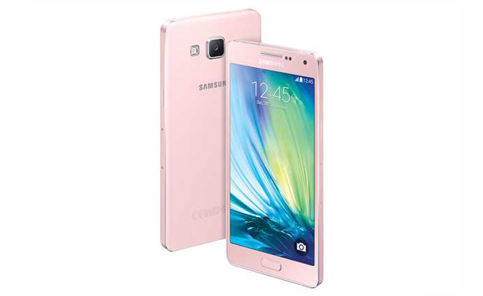 Samsung Galaxy A5 Soft Pink Samsung Galaxy A3 and A5 May Not Come to Other Markets