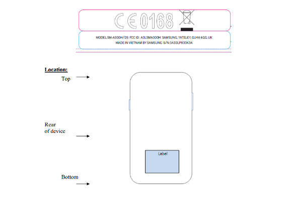 gsmarena 001 Low end Samsung Galaxy A3 (SM A300) Clears FCC, Ready for Launch