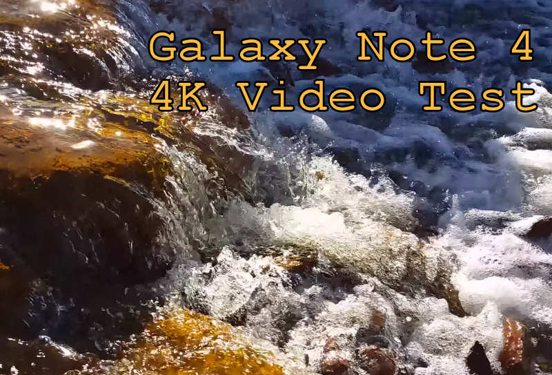 Galaxy Noe 4 4K Video Test 4K Video on Galaxy Note 4   Your iPhone 6 Can Not Do This