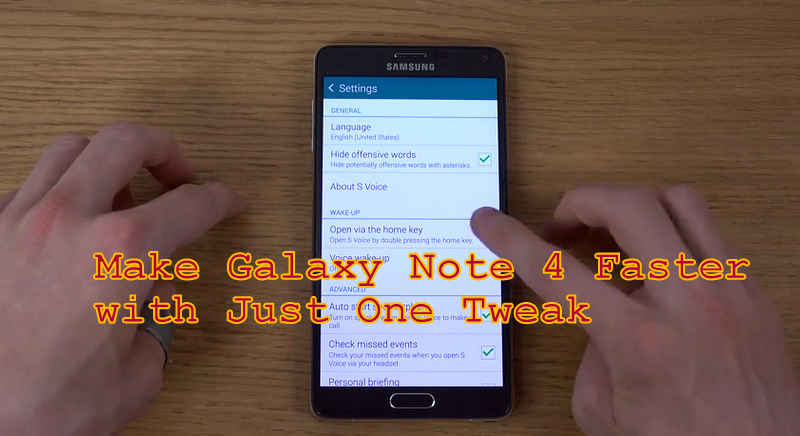 How To Make Samsung Galaxy Note 4 100  Faster   4K    YouTube-002