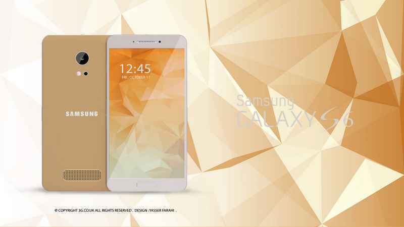 Samsung Galaxy S6 Gold HQ Samsung Galaxy S6 Design Concept and Specification