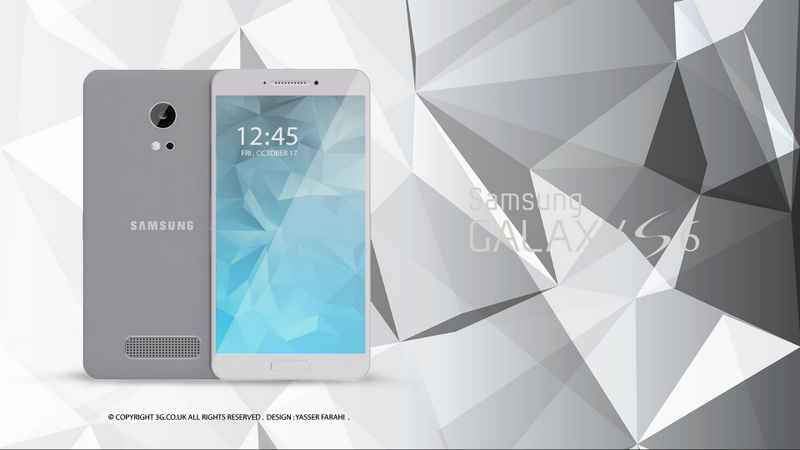 Samsung Galaxy S6 Silver HQ Samsung Galaxy S6 Design Concept and Specification