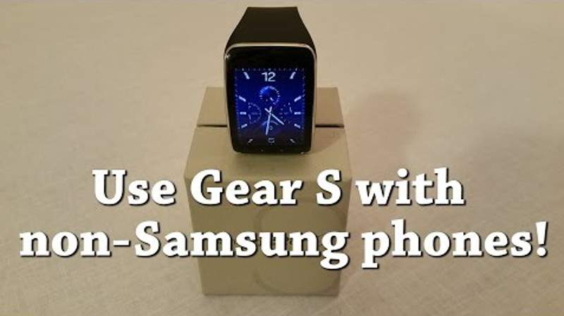 Gear S How to pair