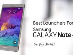 Galaxy Note 4 Launchers