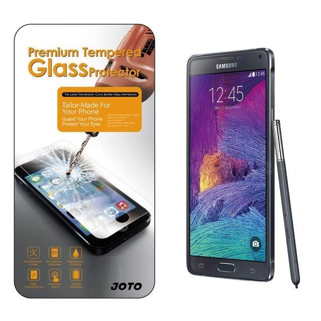 Galaxy Note 4 Tempered Glass Screen Protector
