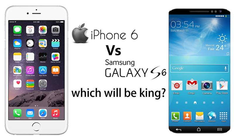 iphone 6 vs samsung galaxy s6 galaxy s6 vs iphone 6 how samsung is going to ruin apple 1468