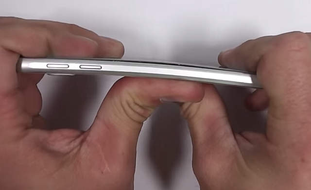 Galaxy S6 Bendgate - Bend Test