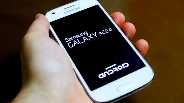 Galaxy Ace 4 Android Lollipop