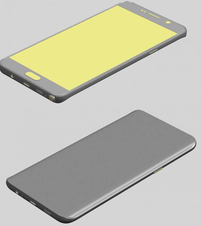 Galaxy S6 Edge Plus and Note 5 Renders