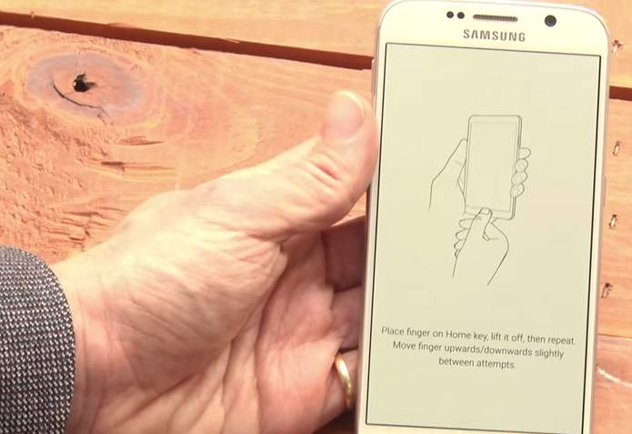 Galaxy S6 Fingerprint Scanner