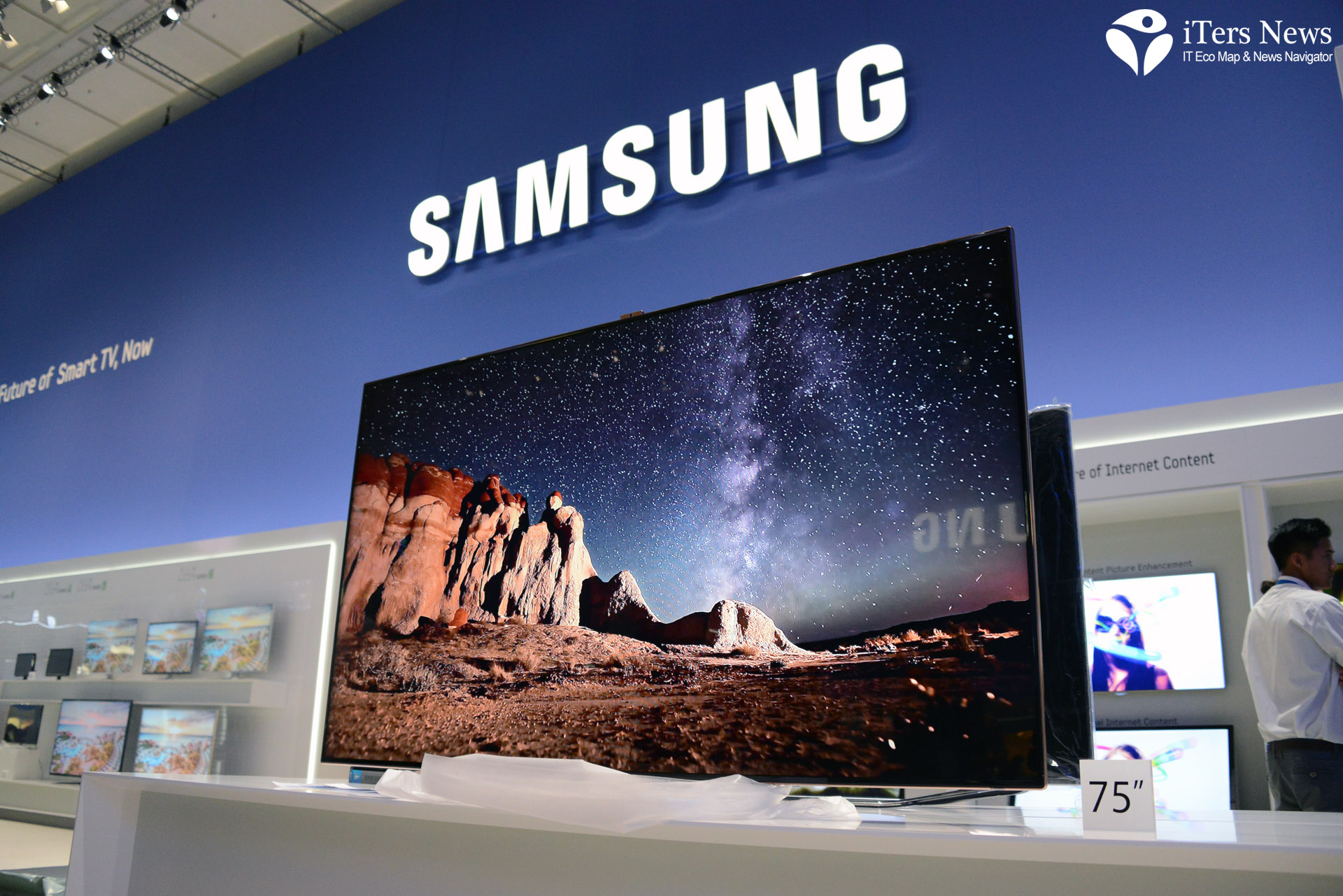75 LCD TV , SMART TV, 3D TV, SAMSUNG, IFA 2012