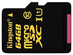 Kingston Digital 64GB microSDXC Card