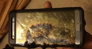 Galaxy Note 7 Battery Burn
