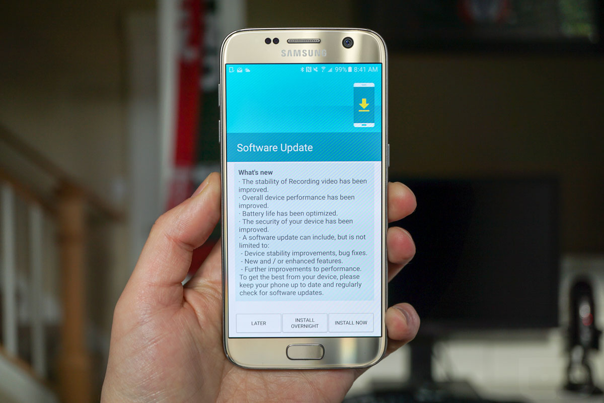 Galaxy S7 Gets November S Security Update Samsung Rumors