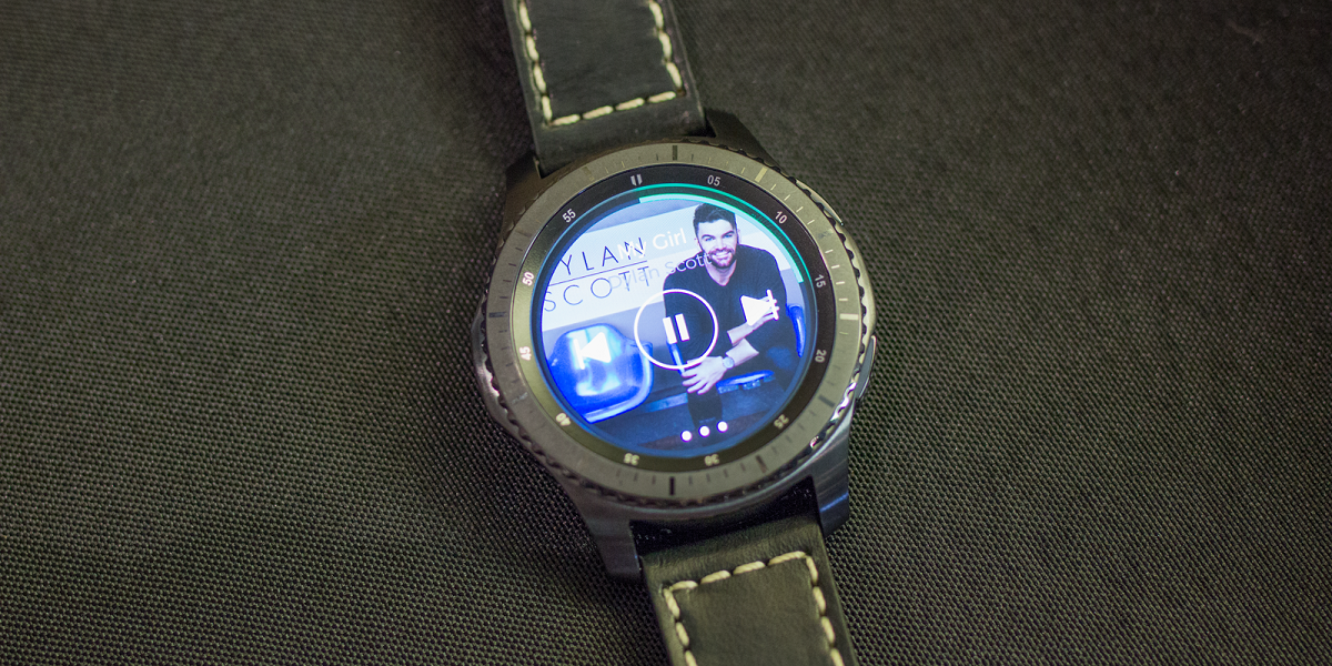 Spotify comes on Samsung Gear smartwatches