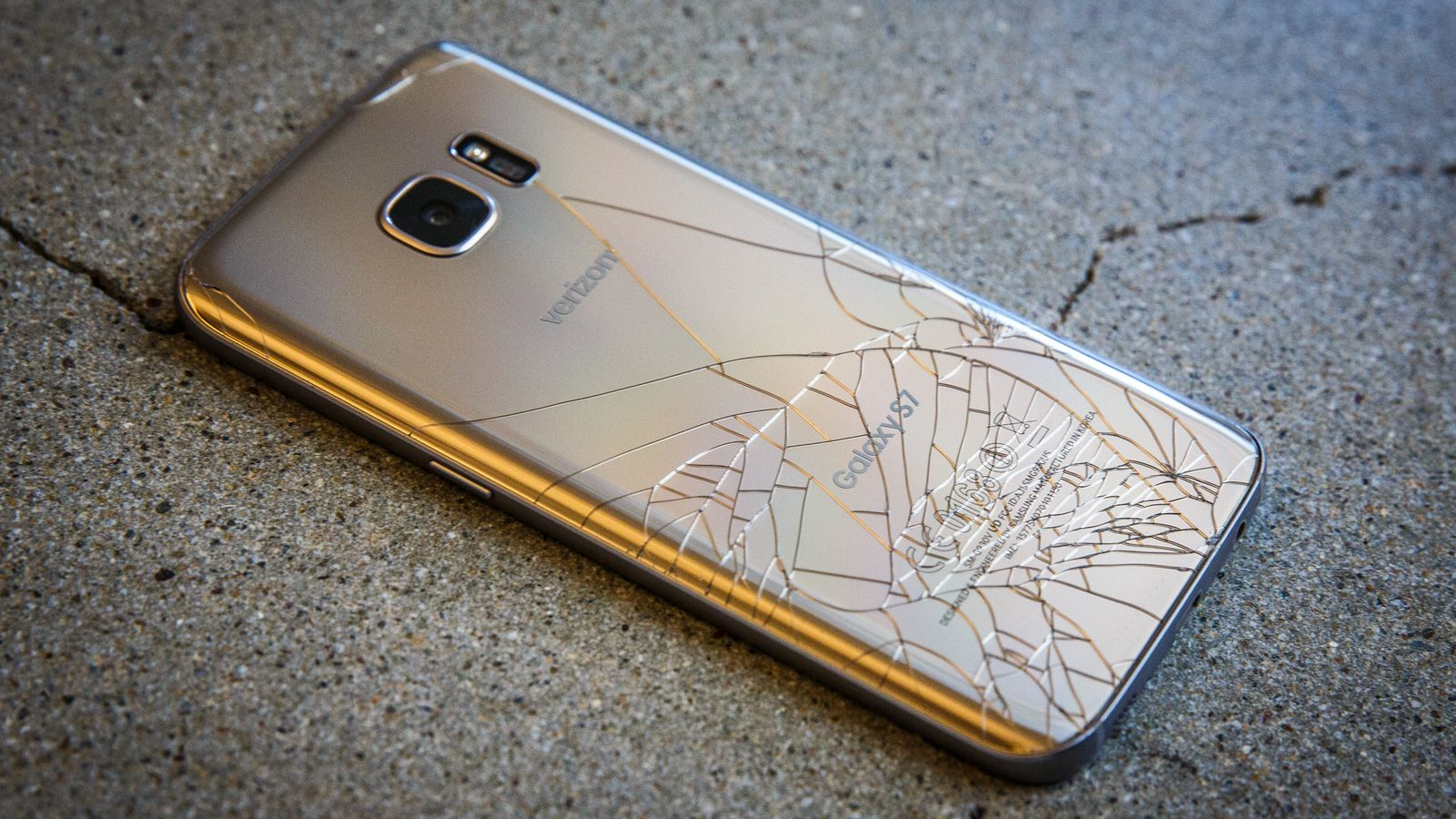 Galaxy S7 Rear Glass Cracked How To Repair It Samsung