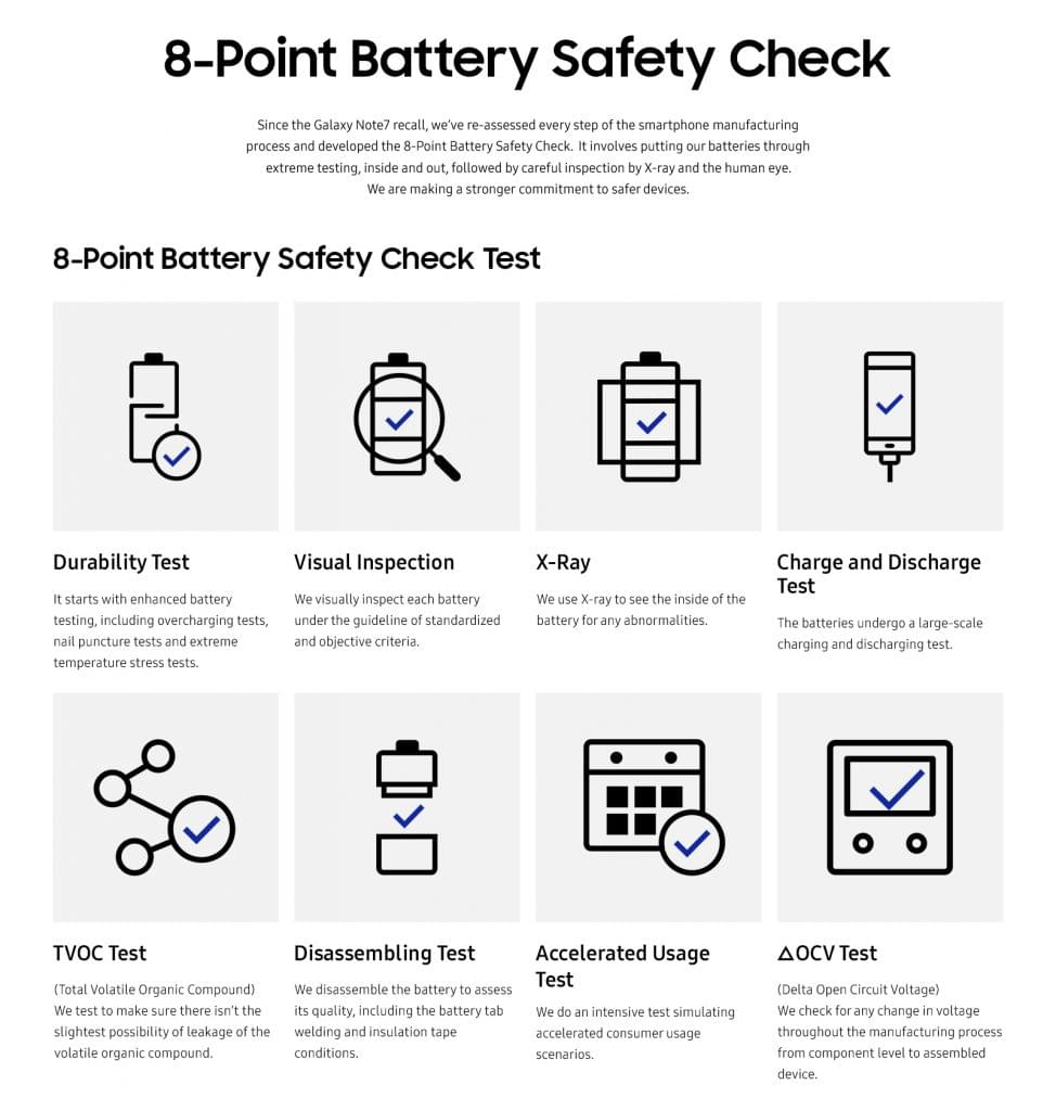 8-point battery safety check