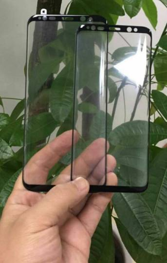 New Galaxy S8 and S8 plus's front panel images