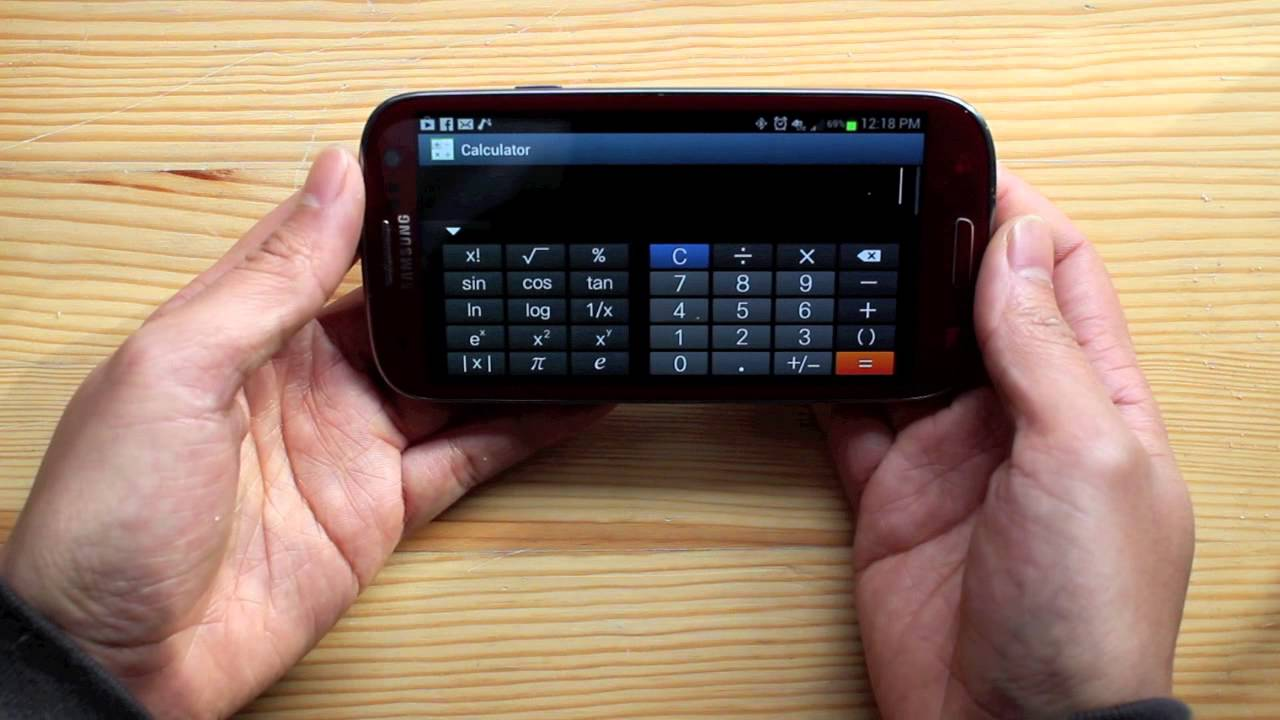 Samsung / android calculator limitation – terence eden's blog.