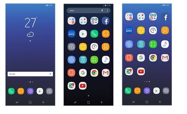 The new interface of Samsung's Galaxy S8 revealed