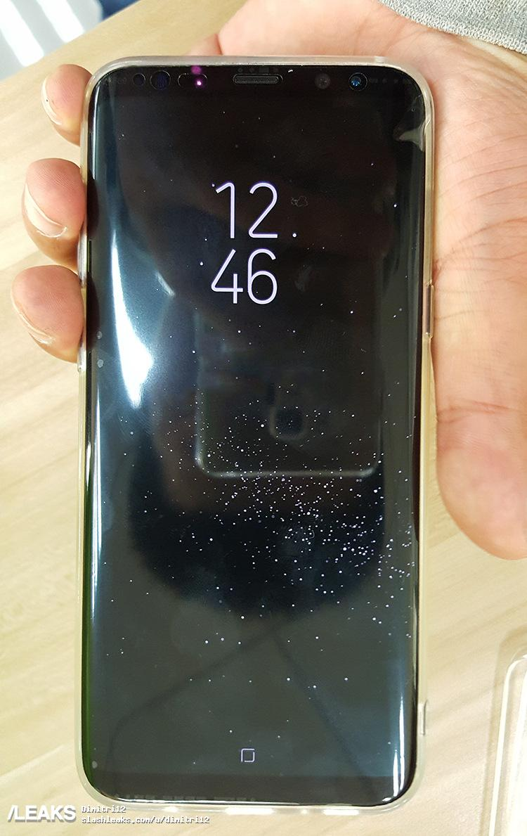 More hands-on images from Galaxy S8 and S8 Plus surfaced