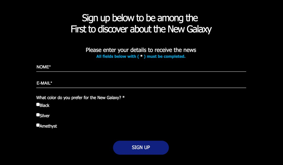 Samsung might be teasing the colors of Galaxy S8 on their website
