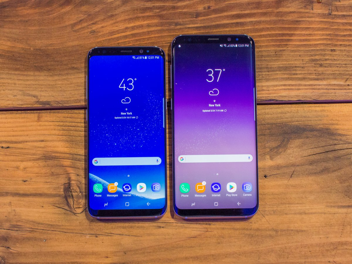 Finally arrived: Hands-on pictures from the Galaxy S8 and S8 Plus