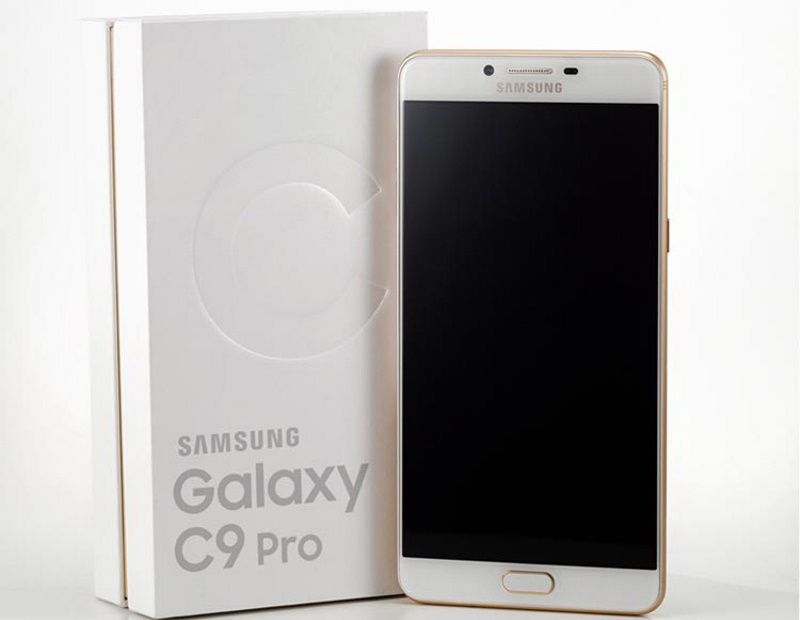 Samsung's Galaxy C9 Pro grabbed its new security update