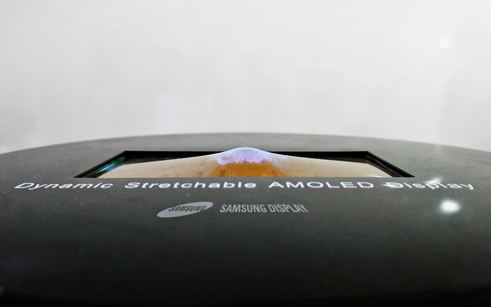 Samsung's stretchable display leaked in video
