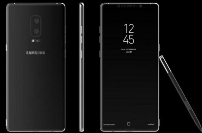 Samsung testing the Galaxy Note 8 on Android 7.1.1