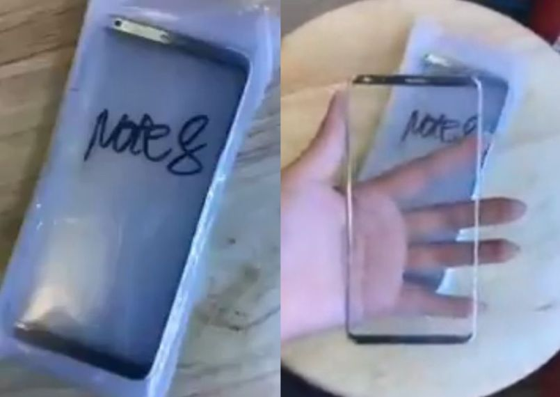 New leaked images showing the Galaxy Note 8