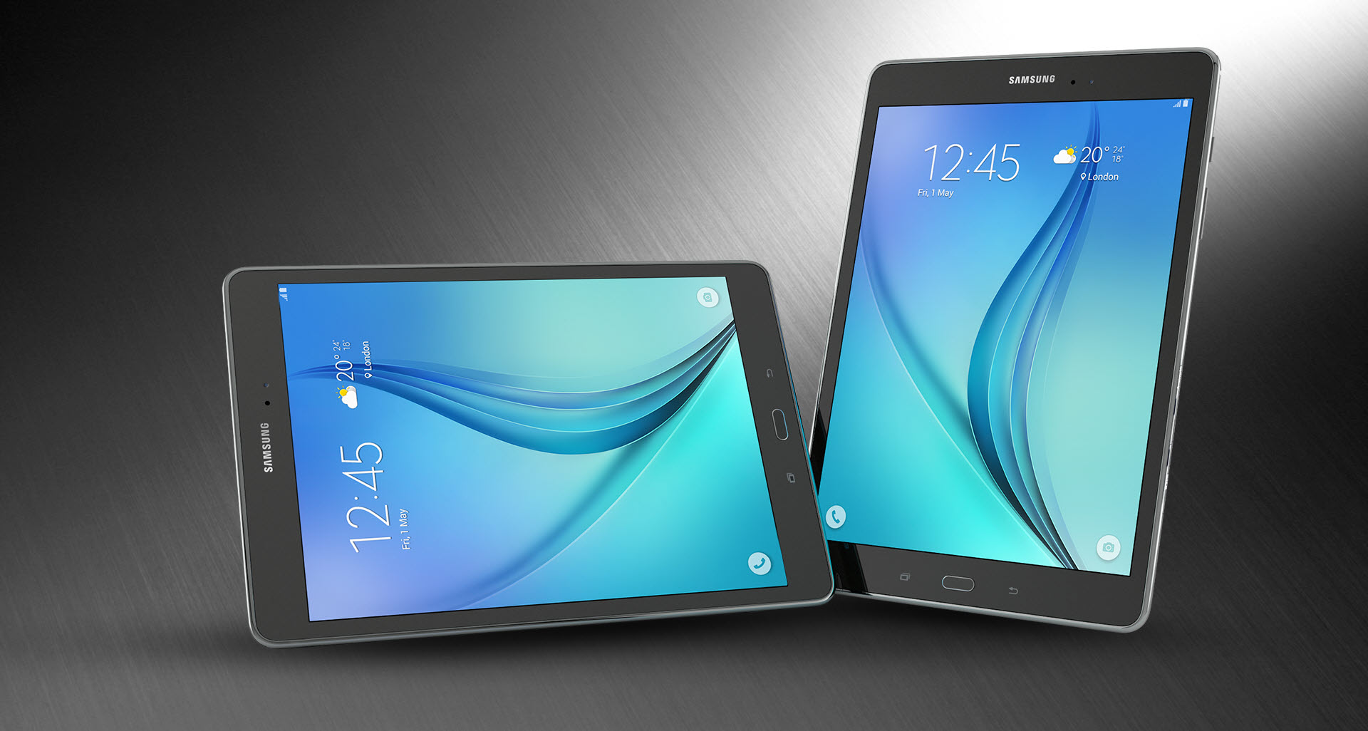 Galaxy Tab A 9.7 with Android 7.0 Nougat inside