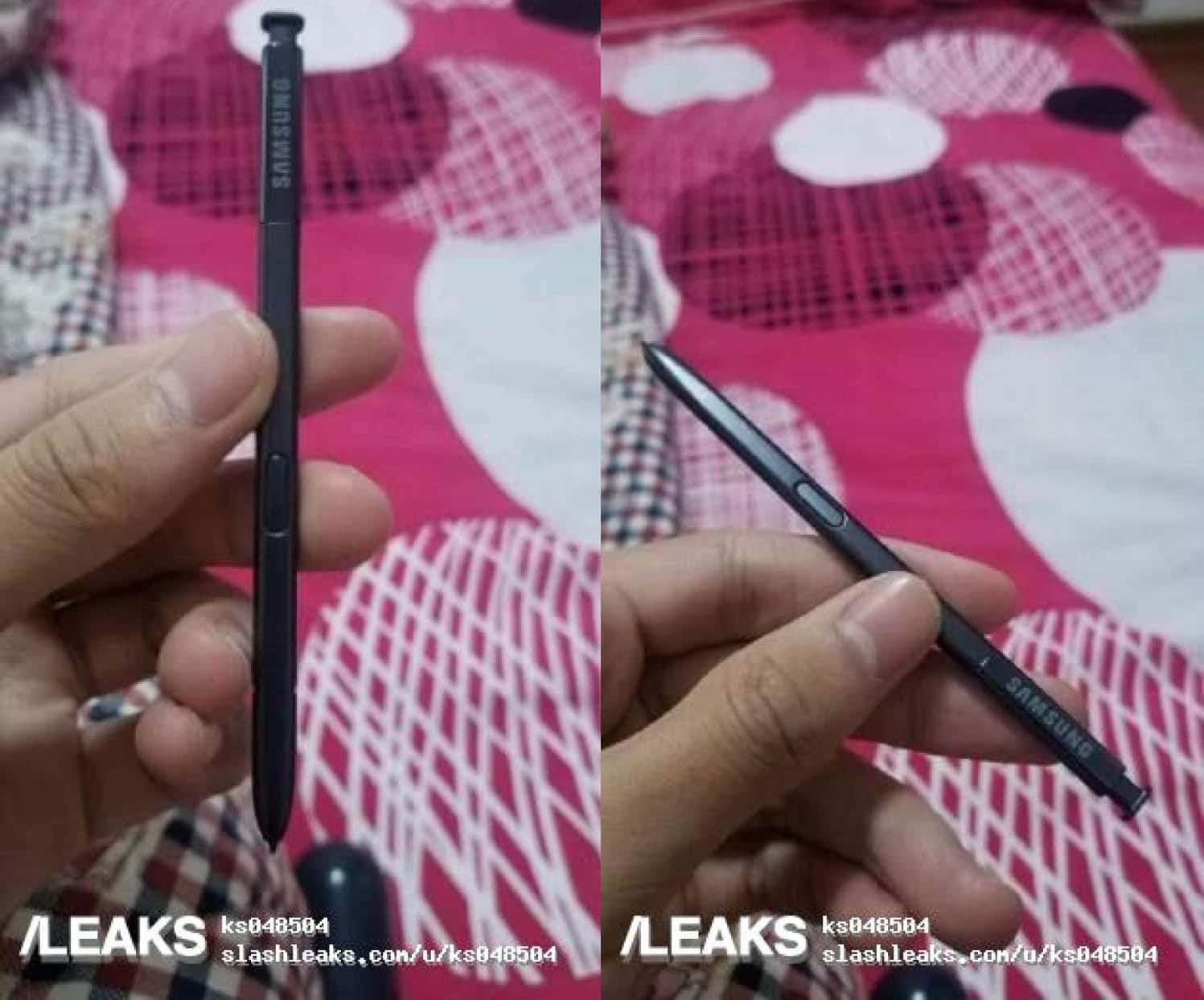 Note 8's S-Pen appears in new leaked images