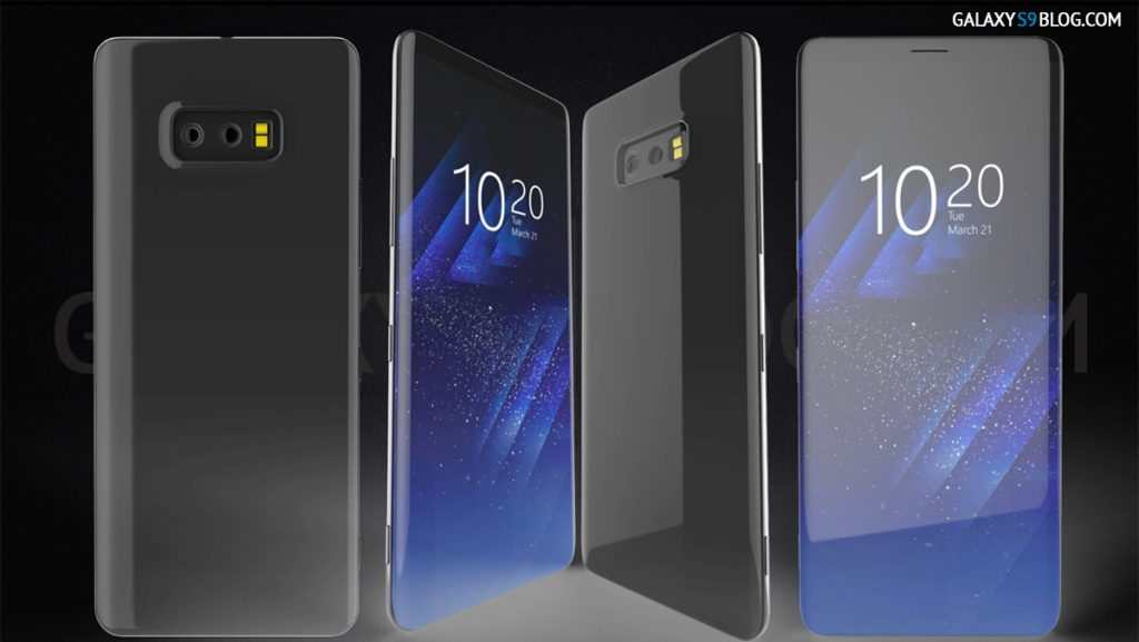 A Galaxy S9 concept has been leaked online