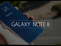A brochure of the Galaxy Note 8 leaked online